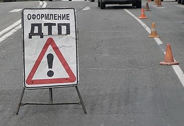 Пассажиры маршрутки пострадали в ДТП на Большевицкой